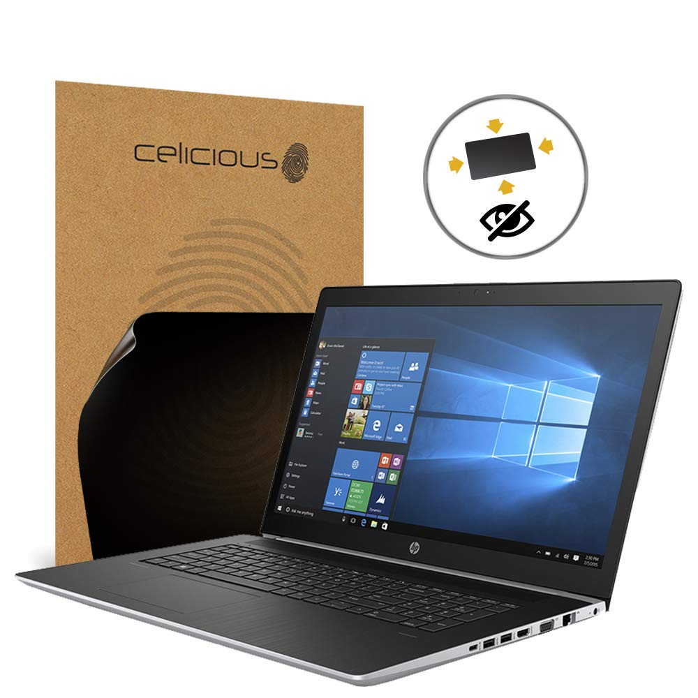 Celicious Privacy Plus 4-Way Anti-Spy Filter Screen Protector Film Compatible with HP ProBook 470 G5