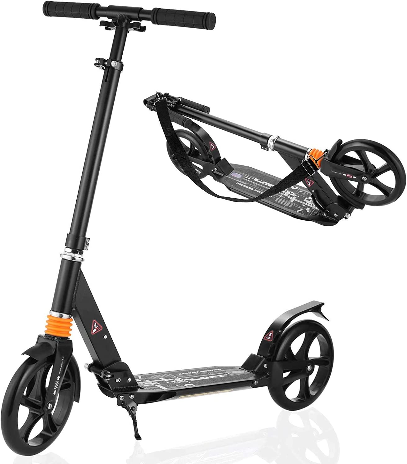 Details about  /Caroma Kick Scooter for Kids /& Toddlers Girls and Boys  3 LED Flashing c 01