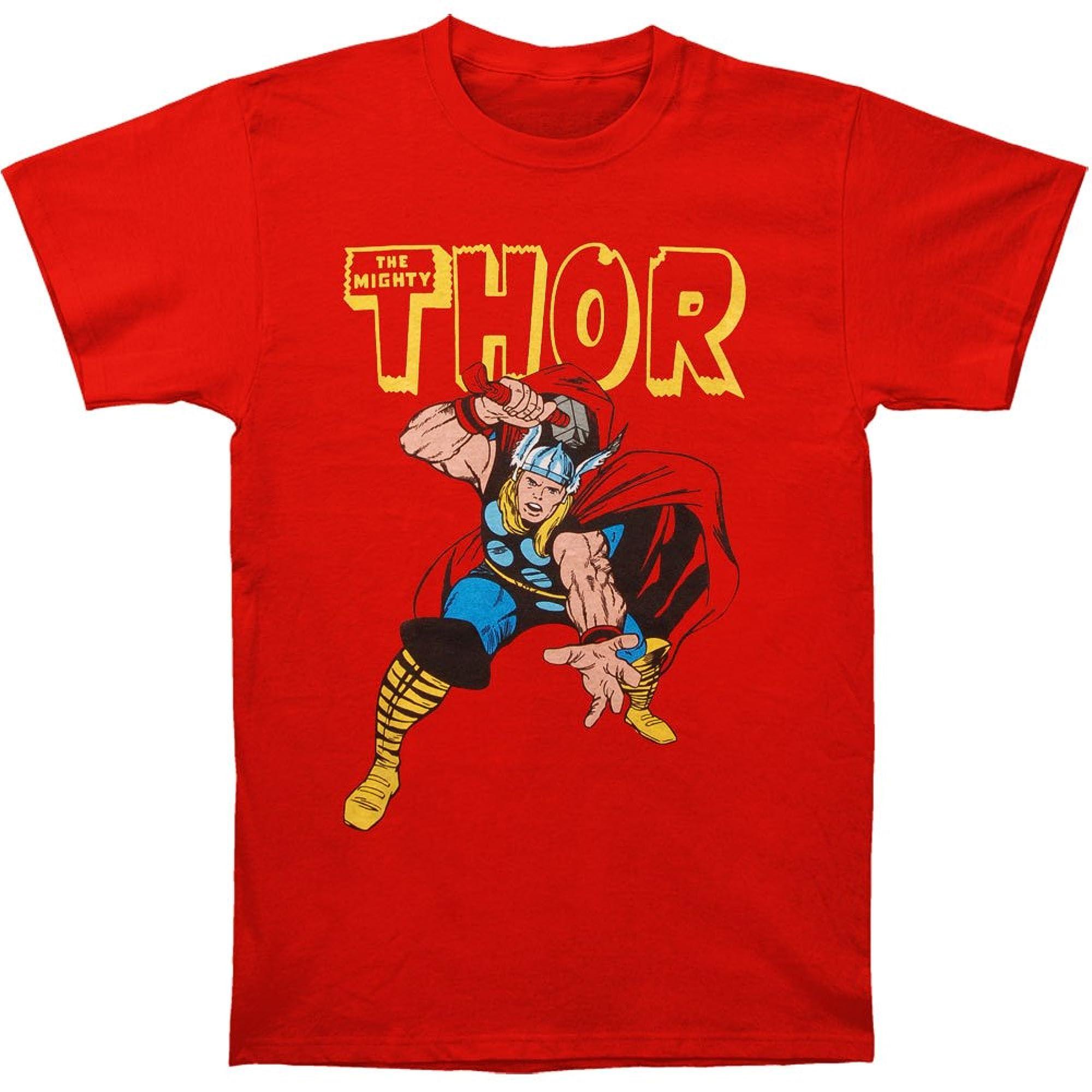 Thor War Hammer T Shirt L