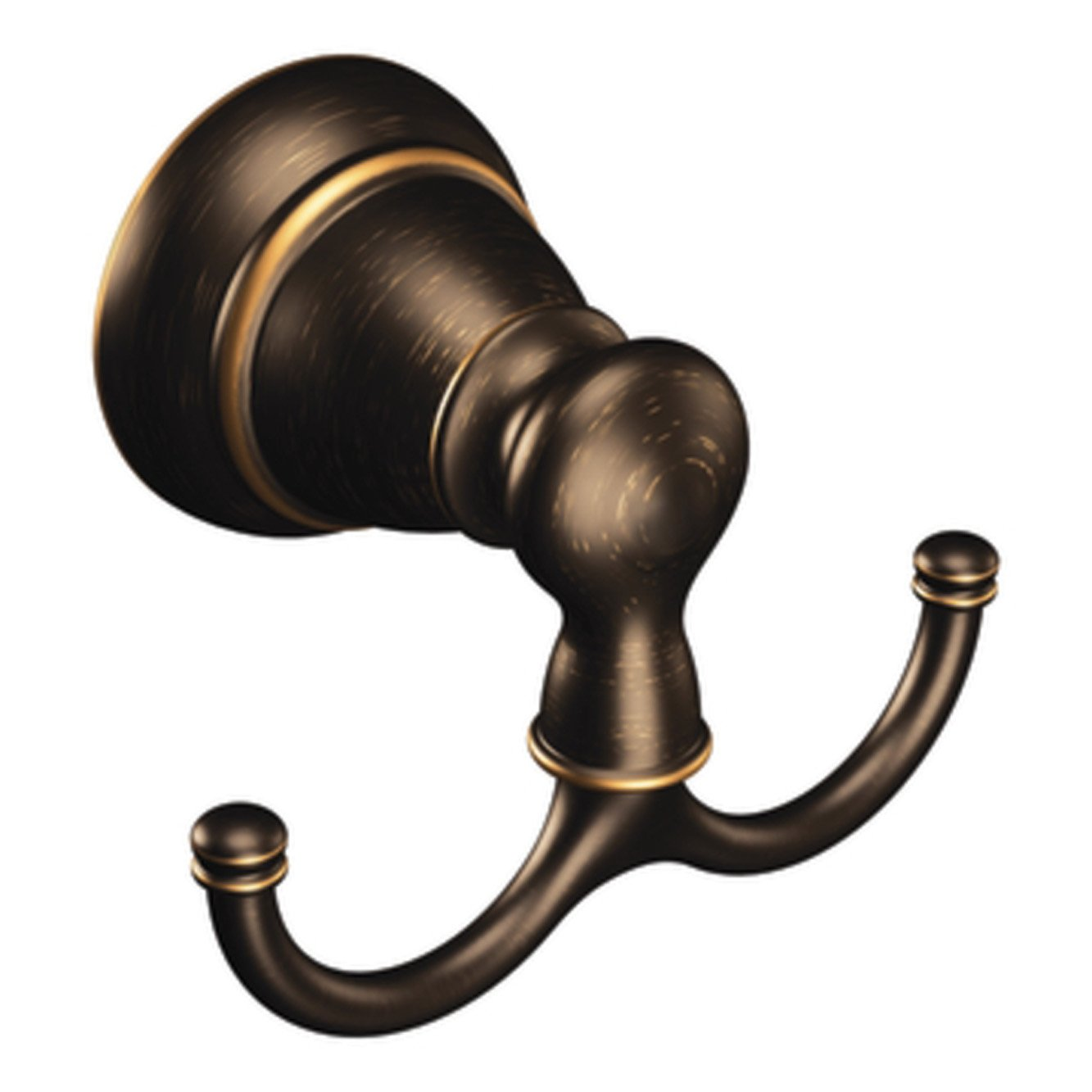 Moen Y2603BRB Banbury Pivoting Robe Hook, Mediterranean Bronze by Moen