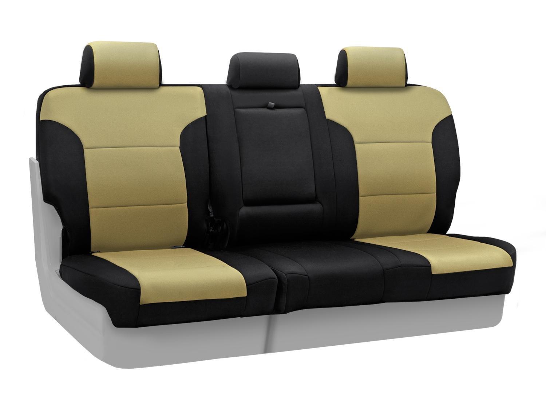 Coverkingカスタムフィットフロント50 / 50バケットシートカバー日産アルティマの選択モデル – Neosupreme ( Tan withブラックサイド)B00IZTSTII--