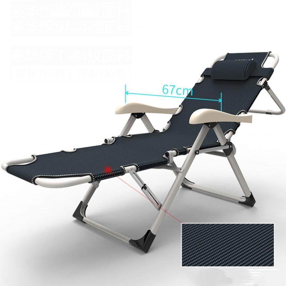 L&J デッキチェア, 家計 バルコニー 折りたたみ椅子 オフィス 可能 無重力の椅子, パティオ ビーチ プール 屋外 花火大会, 荷重 200 Kg を負荷します。 B07F5GGJ4X  A