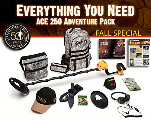Garrett Ace 250 Adventure Package with Must Have Accessories !