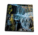 Fast Moving Waterfall Flowing Over Rocks at Baker Dam in Southern, Utah with Hues of Blue and Green Drawing Book is a great way to start sketching, drawing, designing, scrapbooking, or just jotting down your thoughts. This unique spiral bound...