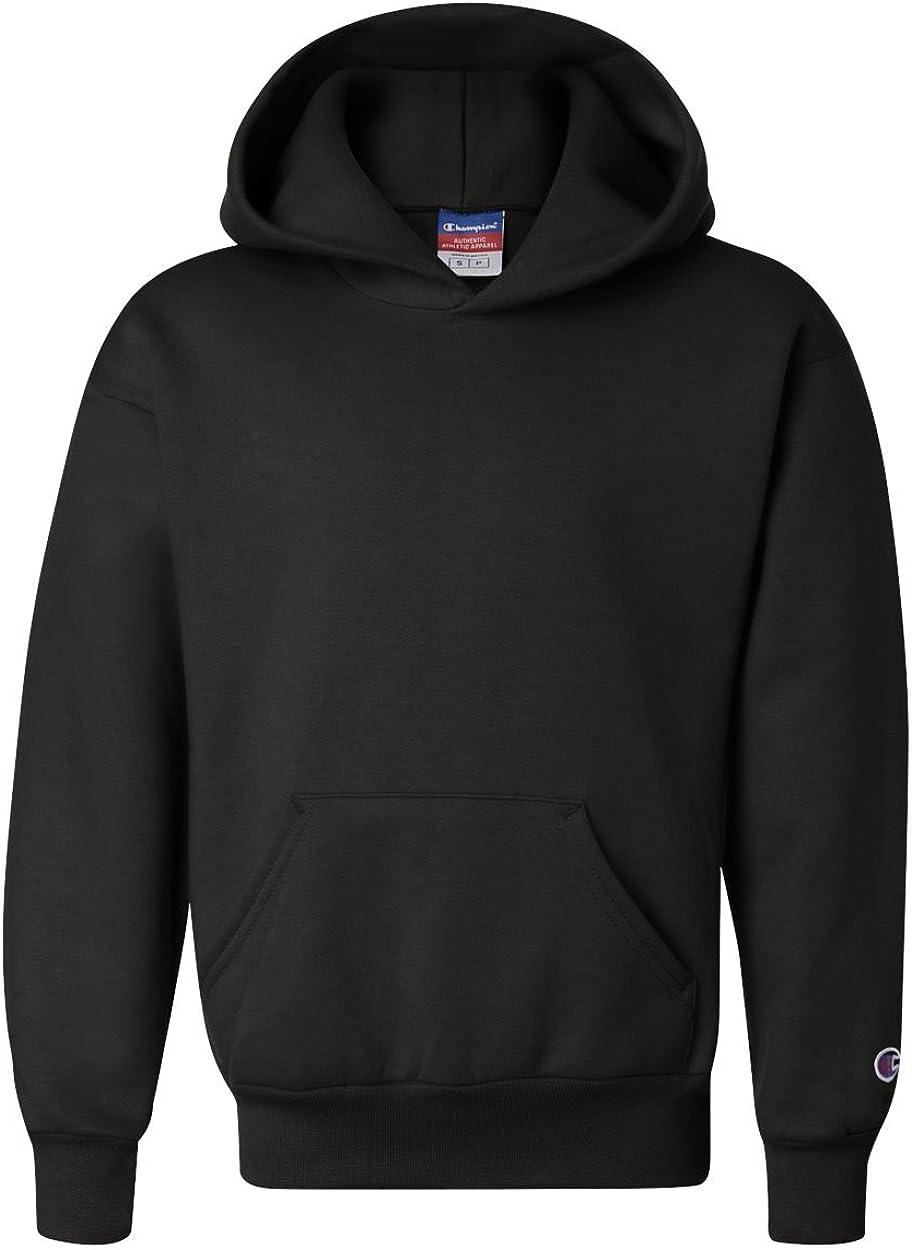 Champion Boys Boys' Big Powerblend Eco Fleece Pullover Hoodie: Clothing