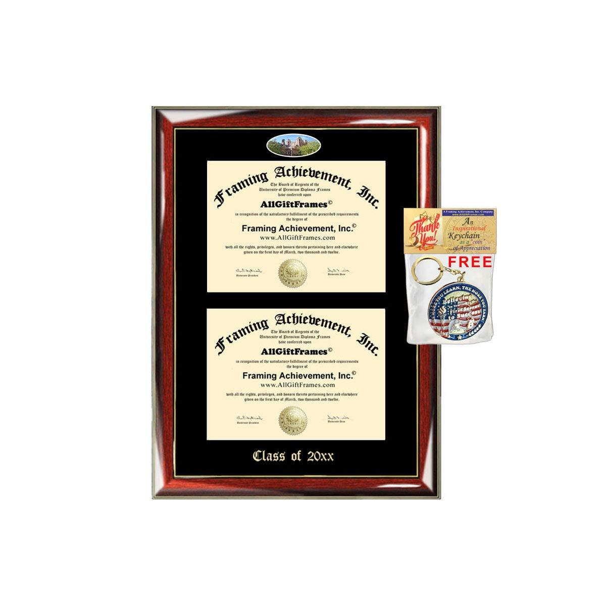 Amazon Allgiftframes Double Certificate Frame Upenn University