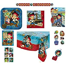 Hallmark 8-Person Birthday Party Combo Pack - Jake the Pirate
