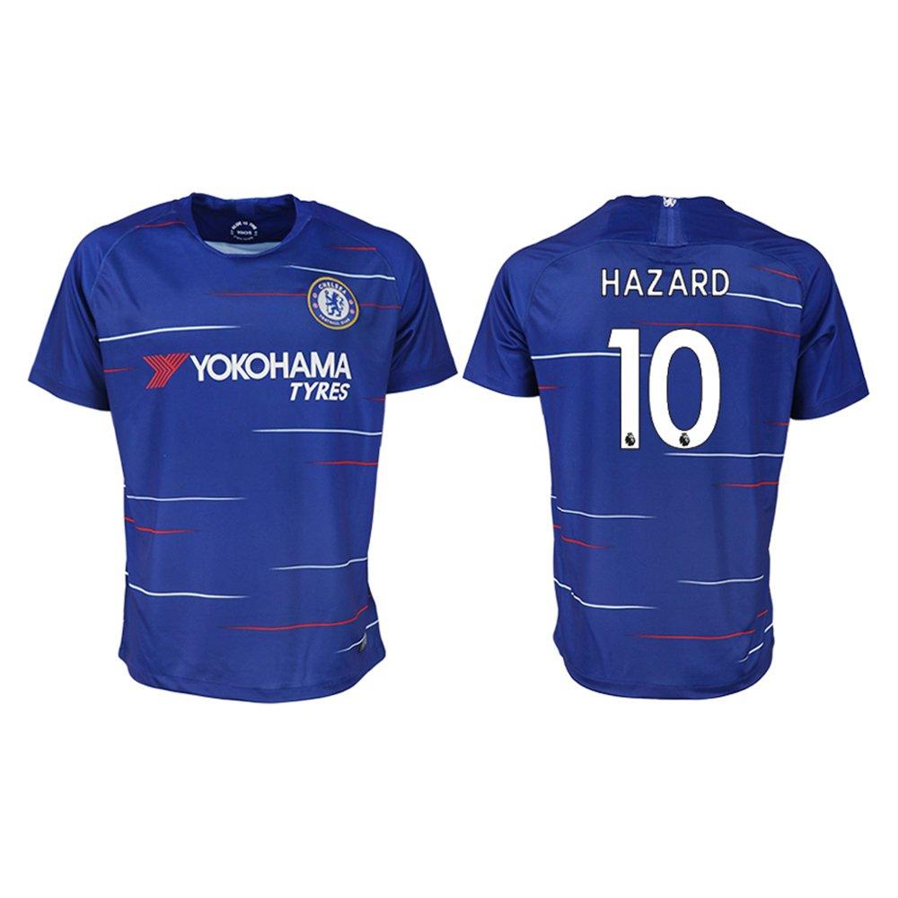 WOola New Chelsea Hazard Home Men's Soccer Jersey