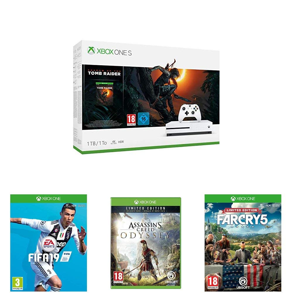 Get an Xbox One Bundle with Four of The Best Games Released