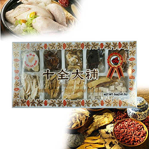 ROM AMERICA Medicinal Herbs Mix Herbal Teas [ Shi Quan Da Bu / Sipjeondaebo-Tang ] for Chicken Soup 십전대보탕