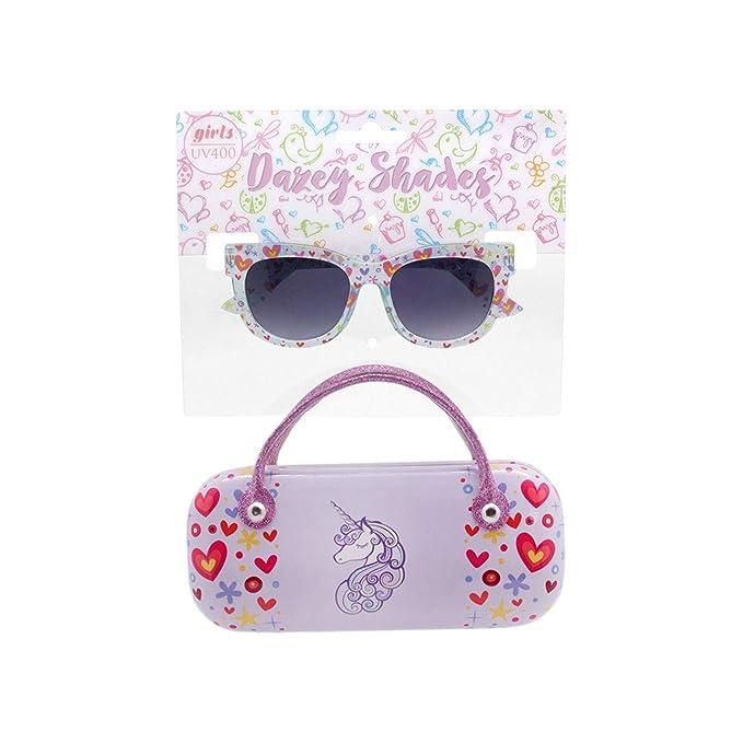 Amazon.com: Dazey Shades - Gafas de sol con funda de ...