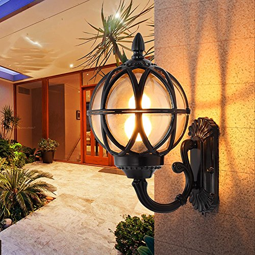 Leaded Glass Outdoor Lighting in US - 4