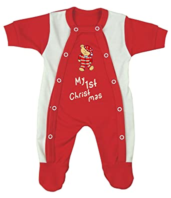 5bc091009c20 BabyPrem Premature Baby Sleepsuit Red Clothes 5.5-7.5lb My 1st ...