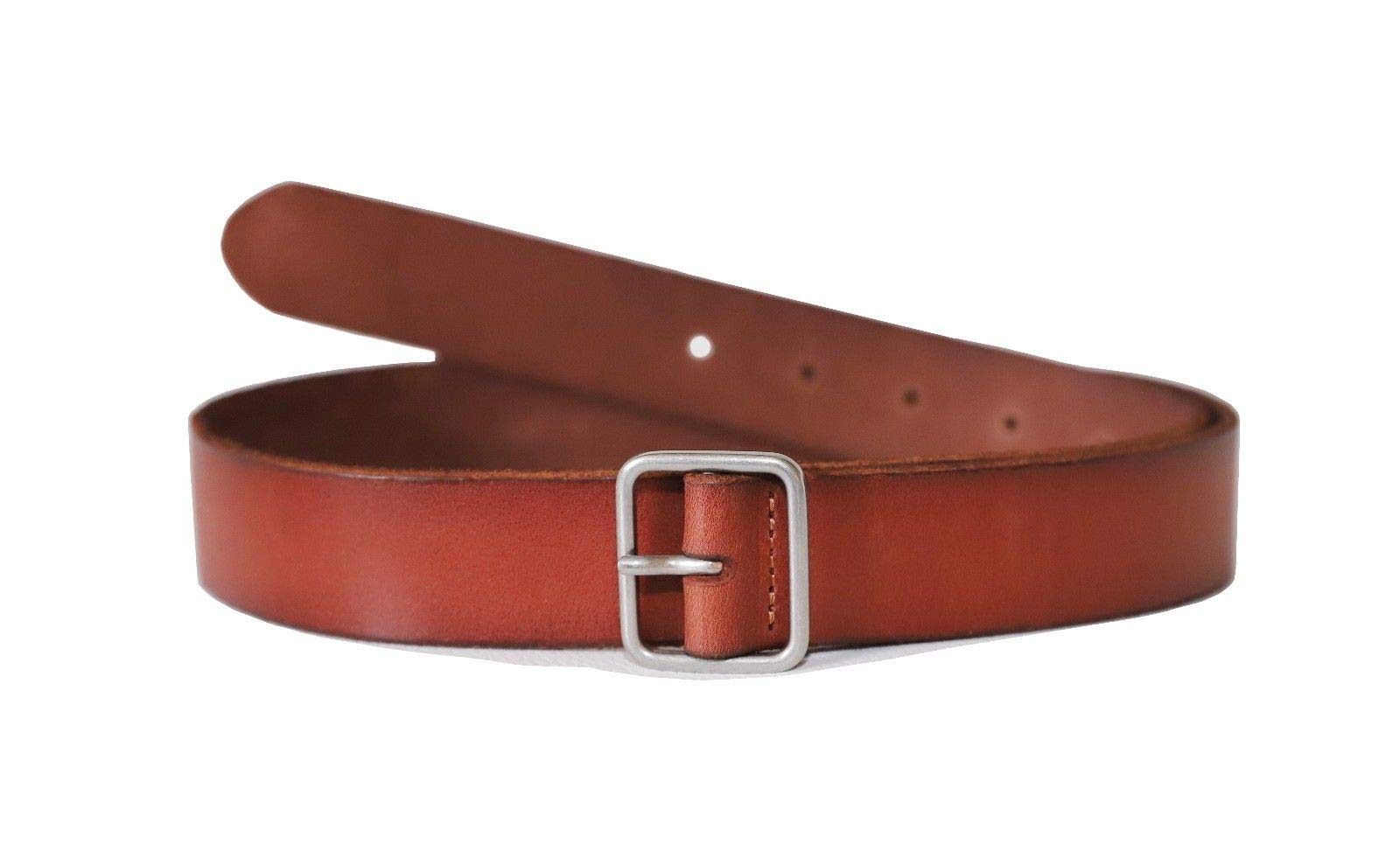 Lucky Brand Women's 1.25 Inch Basic Leather Belt (Medium)