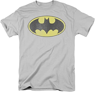 BATGIRL LOGO DISTRESSED Licensed Adult T-Shirt All Sizes