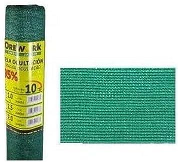 Malla ocultacion 95% verde 1,5x10 mt - Orework: Amazon.es: Bricolaje y herramientas