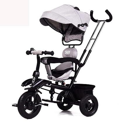 Littlefairy Sillas de Paseo,Si de niño bebé Bicicleta Rueda He un bebé Carro a