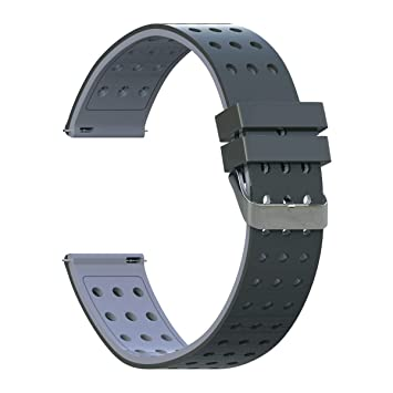 DDJOY Compatible 18mm Breathable Watch Band Replacement for Withings Activite Pop/Withings Activite Steel/Withings Go/Withings Steel HR 36mm/Withings ...