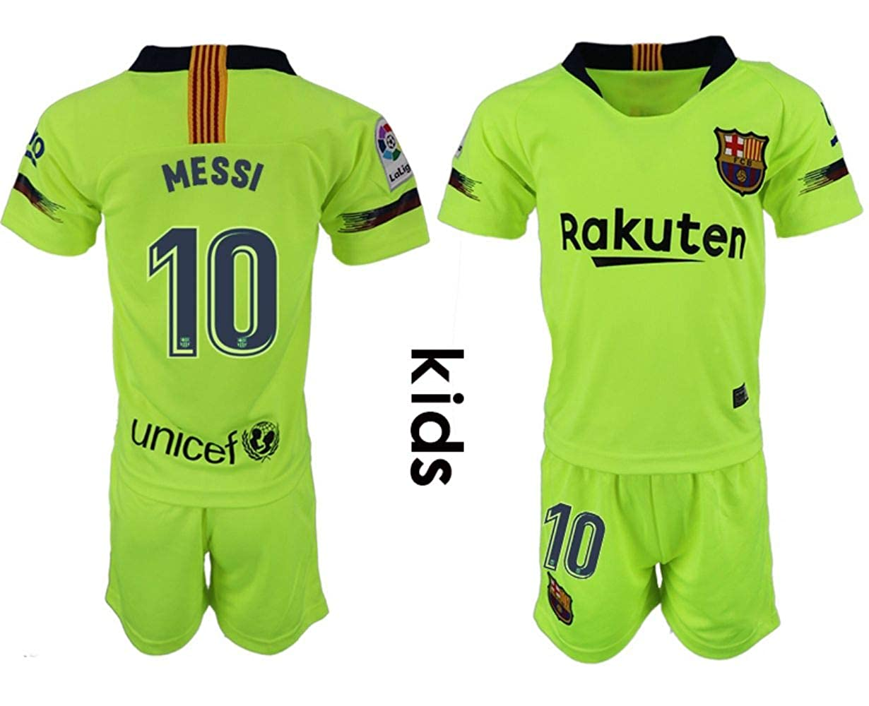 2018-2019 New Barcelona Messi Kid's Soccer Jersey