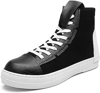 YAN Chaussures de randonnée pour Hommes Chaussures de Plein air Chaussures de Ville Mode Angleterre Bottes Martin Marche en Plein air Chaussures à Lacets (Couleur : B, Taille : 40)