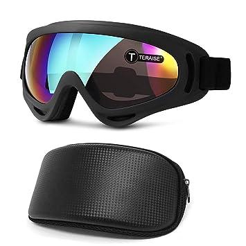 TERAISE Gafas De Esquí Gafas De Nieve Para Esquí, Snowboard ...