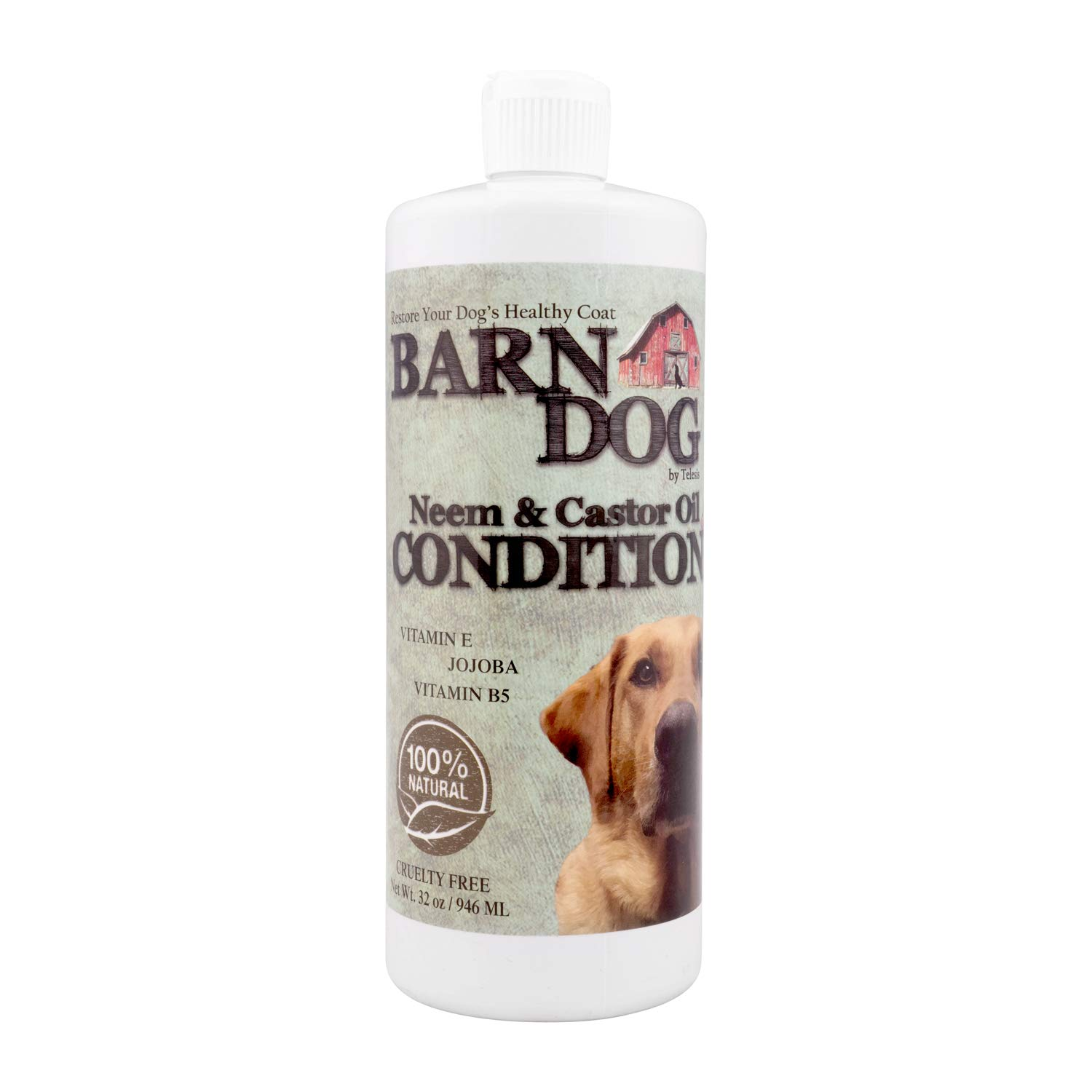 Equiderma Barn Dog Neem & Castor Oil Conditioner