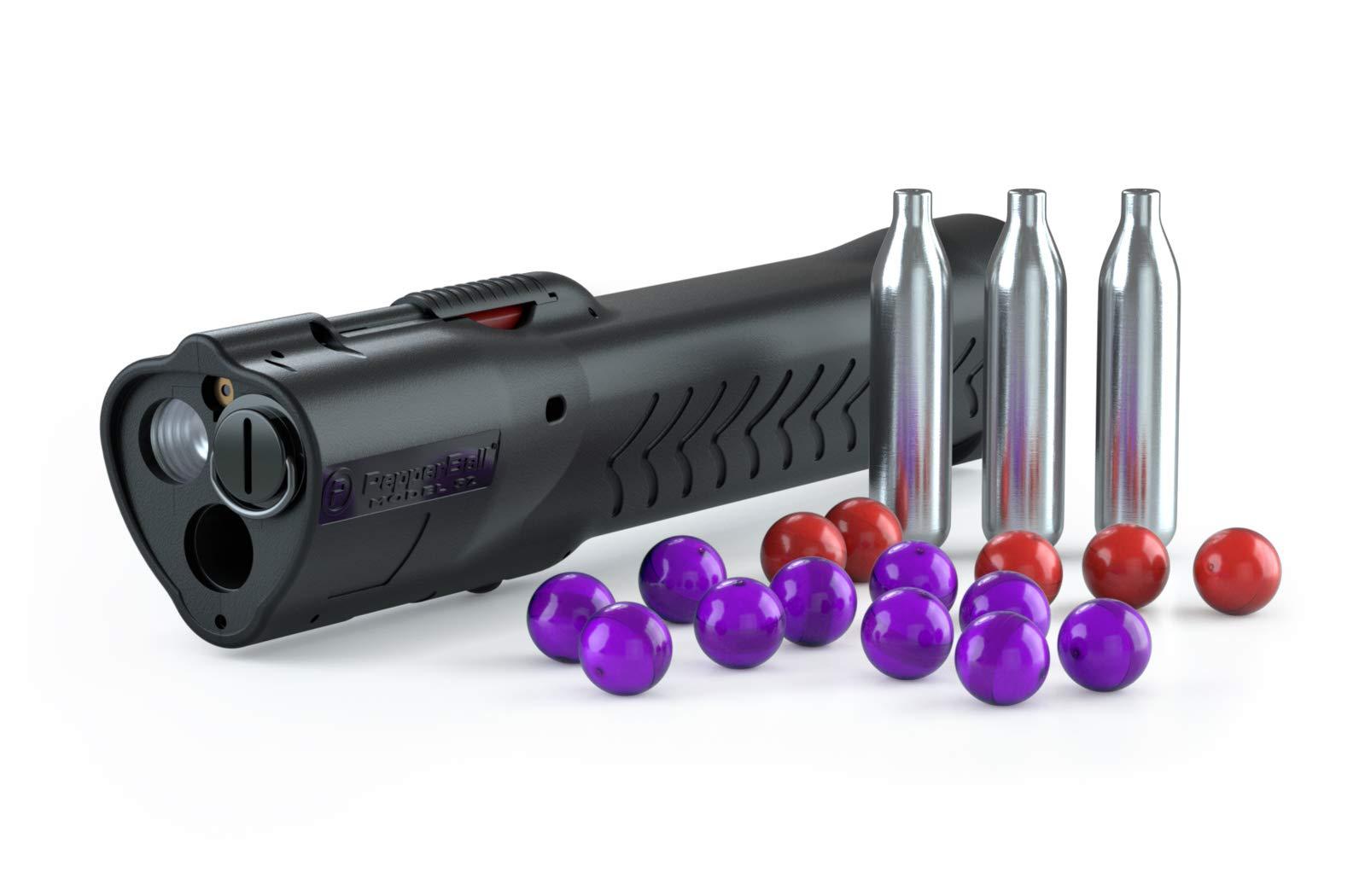 PepperBall LifeLite Self- Defense Starting Kit (Bright LED Flashlight with a Launcher)
