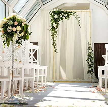 lfeey 10x10ft wedding shower backdrop drapes for wedding arch corridor desks flowers bouquet photography background engagement