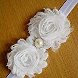 Baby Headband, USA Infant Chiffon Flower Christening Hairband - Best Reviews Guide