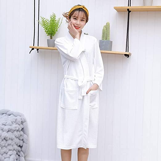 LQY-Z camisón Mujeres Dormir Camisón de algodón Camisones de Manga ...