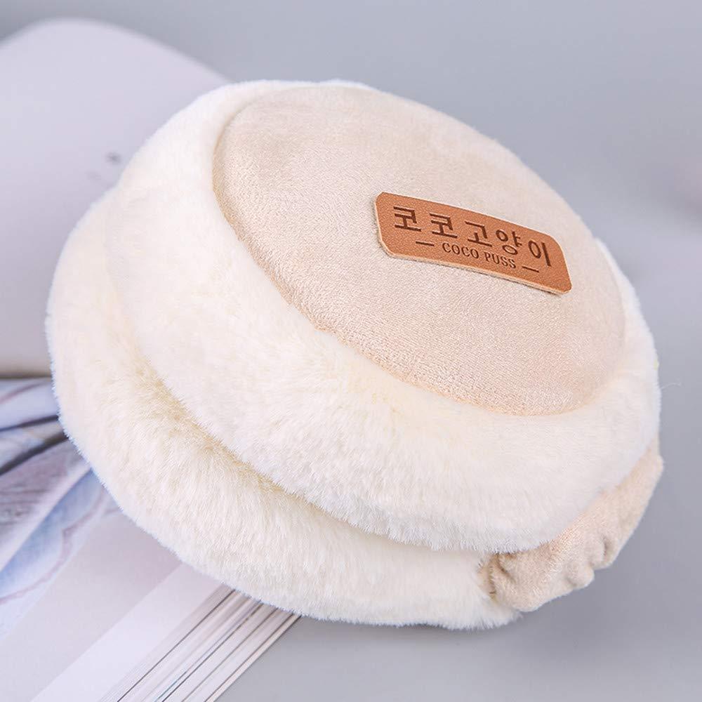 BW Winter Ohrenw/ärmer Unisex Earmuffs Ohr Warme Fleece Weich Warme Ohrensch/ützer Faltbar Einstellbar f/ür Damen und Herren