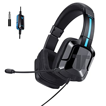 TRITTON Kama Plus Auriculares Stereo Gaming con conector de 3.5 mm y micrófono para Sony PS4