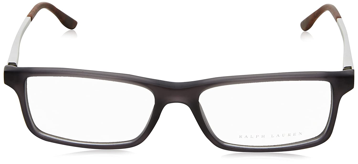 5d58b693ccdd Amazon.com: Ralph Lauren RL6128 Eyeglass Frames 5510-53 - Matte Grey  RL6128-5510-53: Shoes