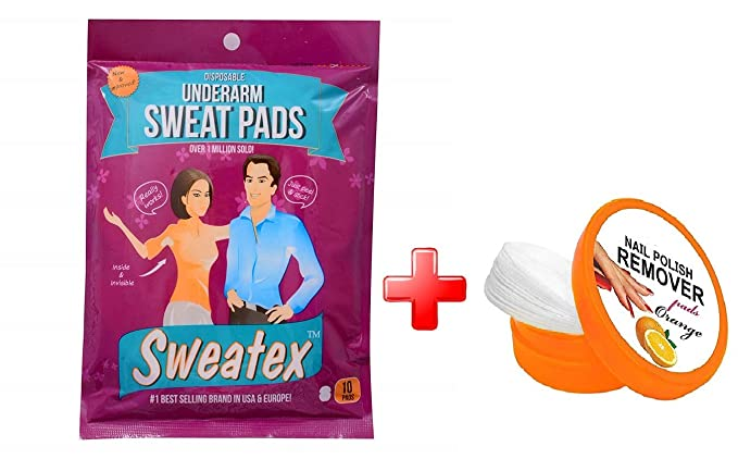 Sweatex Disposable Underarm Pad (A Pack Contains 10 Pads)