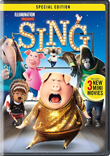 Sing (Six Pack Movie Dvd)