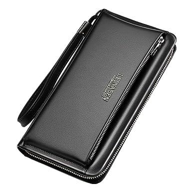 d1fc8dd14323 Men's Wallet,PAQOZ Business Multi-function Card Holder Wallet First ...