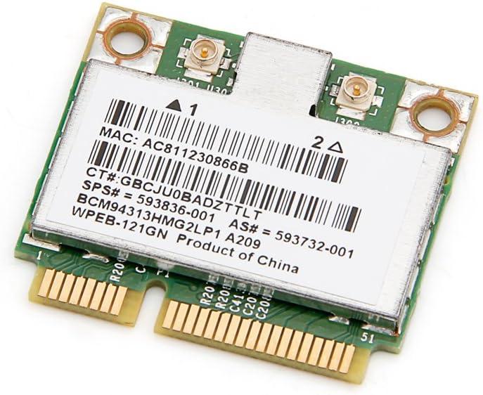 BroadCom BCM94313HMG2L BCM4313 Half Mini PCI-e WLAN Card for HP 593732 593836 001