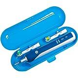 Nincha di ricambio portatile plastica custodia da viaggio per spazzolino elettrico Oral-B Pro Series blu …