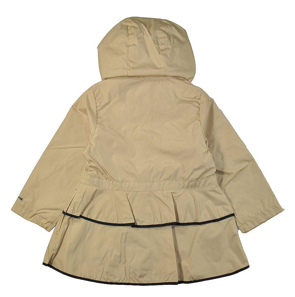 e30d983cf372 Amazon.com  London Fog Little Girls Khaki   Black Tier Ruffled ...