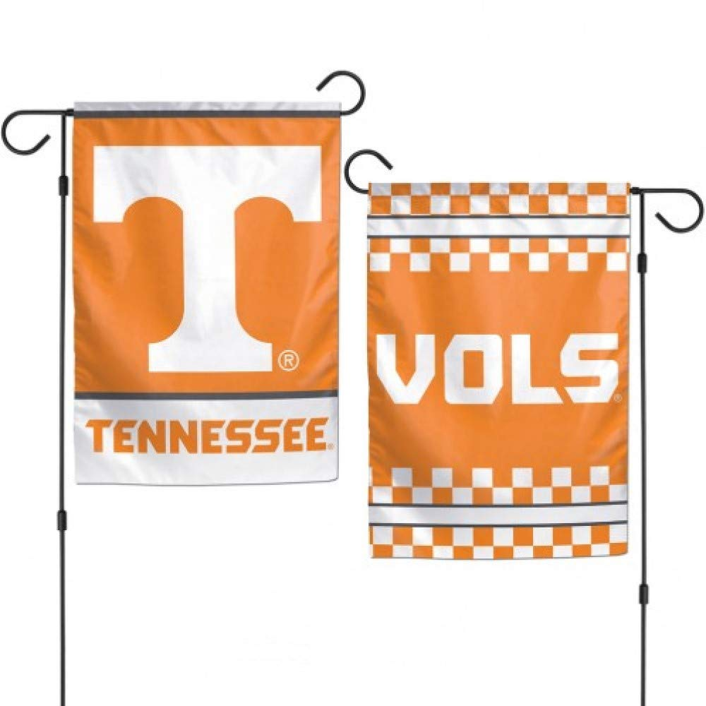 "WinCraft NCAA University of Tennessee Volunteers 12.5"" x 18"" Inch 2-Sided Garden Flag Logo"