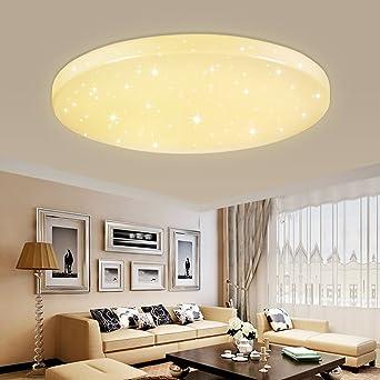 HG® 50W LED Deckenleuchte Deckenlampe Warmweiß Wandlampe rund ...