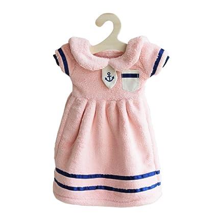 Para colgar e instrucciones para hacer vestidos de princesa con texto en inglés de mano blanda