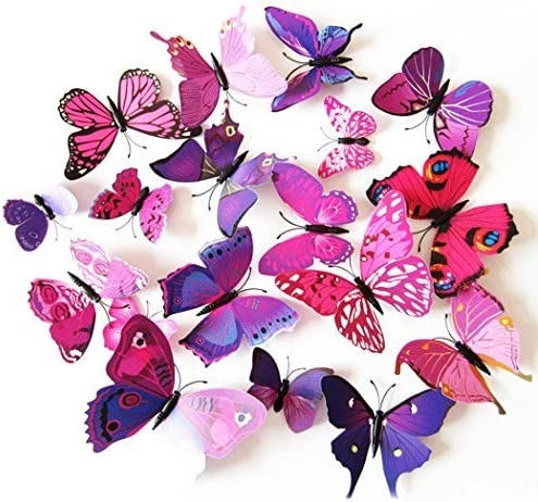 3D Butterfly wall decoration FREE SHIPPING USA
