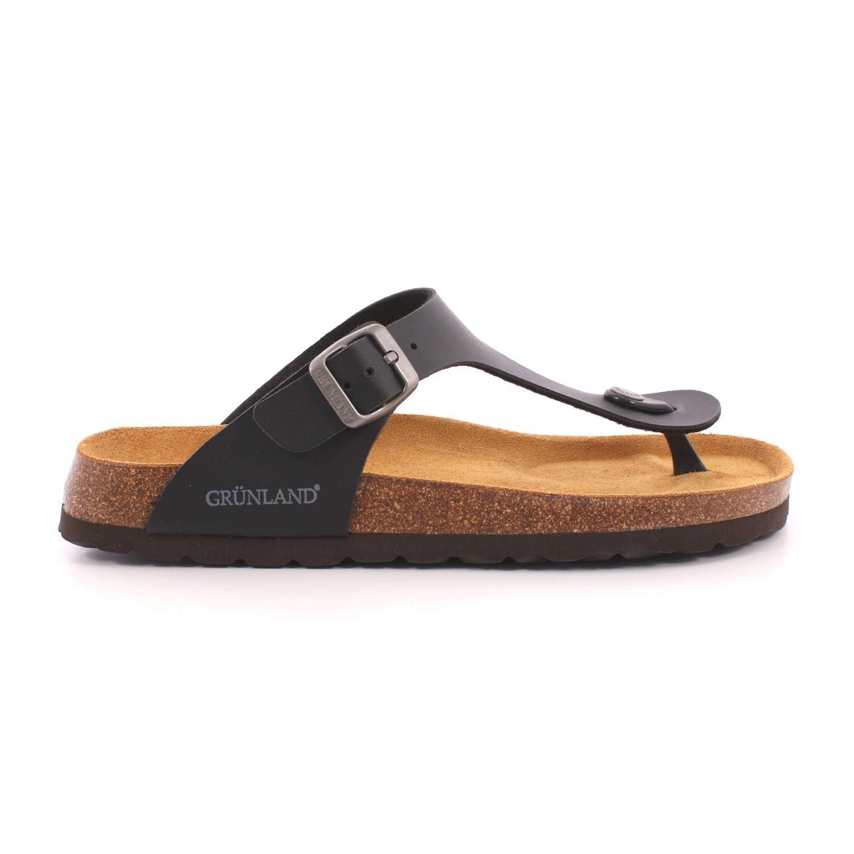 GRUNLAND CB3014 Chanclas Hombre 48 EU|Nero Zapatos de moda en línea Obtenga el mejor descuento de venta caliente-Descuento más grande