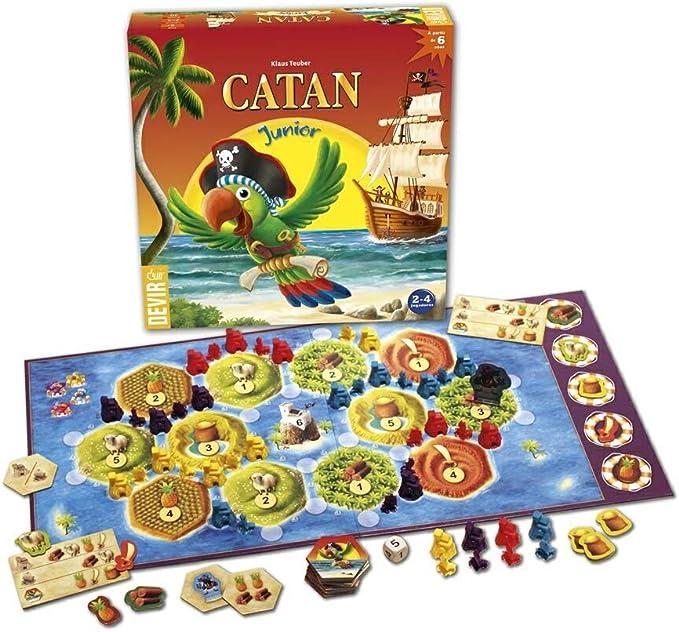 Devir- Catan Junior, Juego de Mesa, en Castellano, catalán y ...