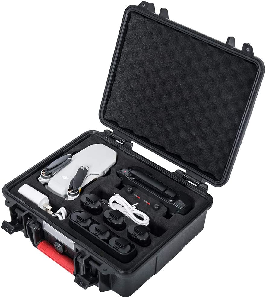 Smatree Waterproof Hard Case Compatible with DJI Mavic Mini Fly More Combo(Drone and Accessories are Not Included)