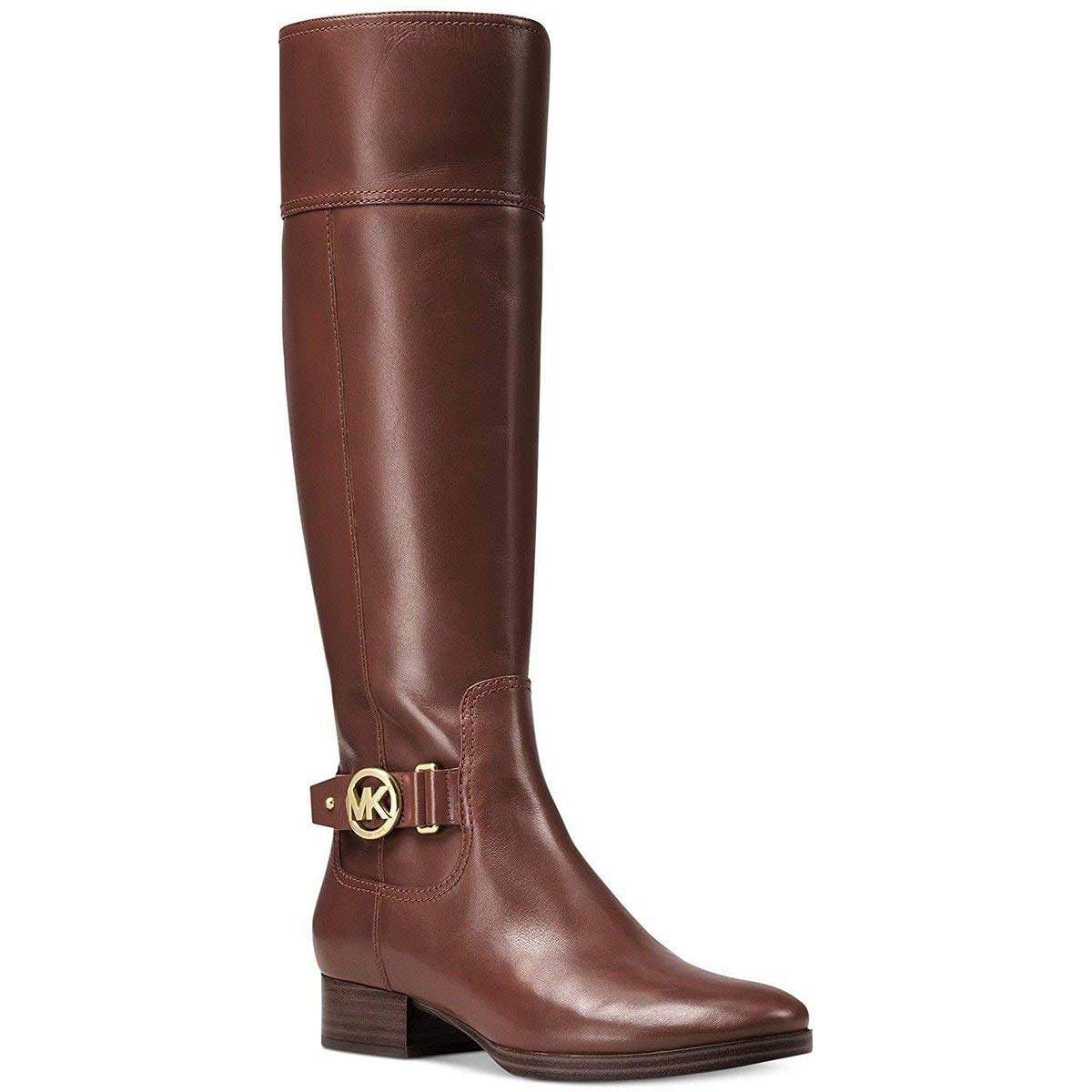 undefeated x customers first latest fashion Amazon.com | Michael Kors Harland Riding Boot Mocha Women's ...