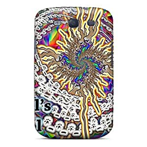 Protective Cell-phone Hard Cover For Samsung Galaxy S3 (cFC4192mLjd) Customized HD Grateful Dead Pictures
