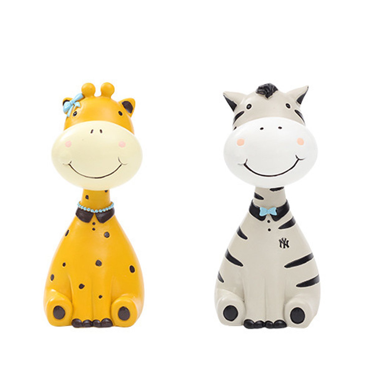 Gift for Christmas or Birthday to Your Loved Ones Adorable Animals Zoo Eyeglass Spectacle in 2 pcs/Eyewear Holder