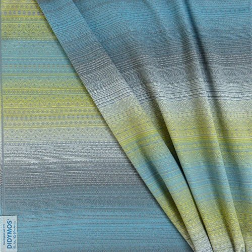 Cotton Levante (DIDYMOS Woven Wrap Baby Carrier Prima Sole Levante (Organic Cotton), Size 7 (520 cm))